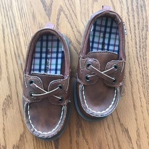 Carters Boat Shoes 👞Toddler Boys
